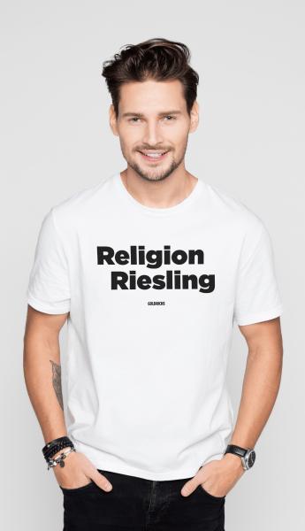Goldrichs Religion Riesling - T-Shirt Unisex - White