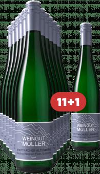 """Stefan Müller 11+1 Krettnacher Altenberg """"Fass Goldrichs"""" Riesling Kabinett 2018"""