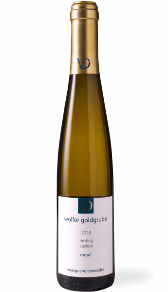 Vollenweider Wolfer Goldgrube Riesling Auslese Goldkapsel 2018