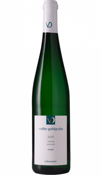 Vollenweider Wolfer Goldgrube Riesling Kabinett 2020