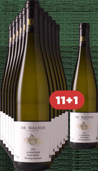 Dr. Wagner 11+1 Saarburger Laurentiusberg Riesling Kabinett 2019