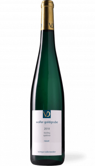 Vollenweider Wolfer Goldgrube Riesling Spätlese Goldkapsel 2018